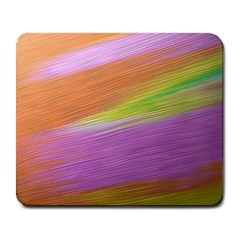 Metallic Brush Strokes Paint Abstract Texture Large Mousepads