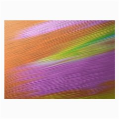 Metallic Brush Strokes Paint Abstract Texture Large Glasses Cloth