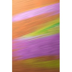 Metallic Brush Strokes Paint Abstract Texture 5.5  x 8.5  Notebooks