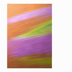 Metallic Brush Strokes Paint Abstract Texture Small Garden Flag (two Sides)