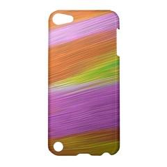 Metallic Brush Strokes Paint Abstract Texture Apple Ipod Touch 5 Hardshell Case