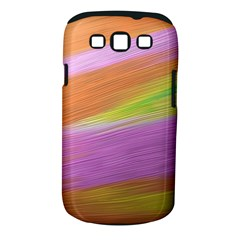 Metallic Brush Strokes Paint Abstract Texture Samsung Galaxy S III Classic Hardshell Case (PC+Silicone)