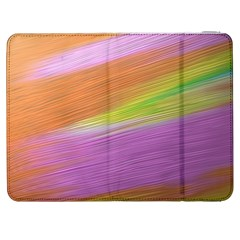 Metallic Brush Strokes Paint Abstract Texture Samsung Galaxy Tab 7  P1000 Flip Case