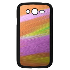 Metallic Brush Strokes Paint Abstract Texture Samsung Galaxy Grand Duos I9082 Case (black)
