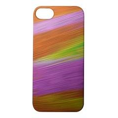 Metallic Brush Strokes Paint Abstract Texture Apple iPhone 5S/ SE Hardshell Case