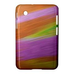 Metallic Brush Strokes Paint Abstract Texture Samsung Galaxy Tab 2 (7 ) P3100 Hardshell Case