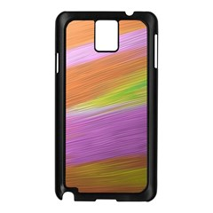 Metallic Brush Strokes Paint Abstract Texture Samsung Galaxy Note 3 N9005 Case (black)