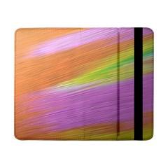 Metallic Brush Strokes Paint Abstract Texture Samsung Galaxy Tab Pro 8 4  Flip Case
