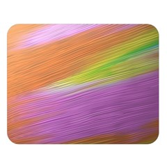 Metallic Brush Strokes Paint Abstract Texture Double Sided Flano Blanket (large)