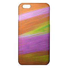 Metallic Brush Strokes Paint Abstract Texture Iphone 6 Plus/6s Plus Tpu Case