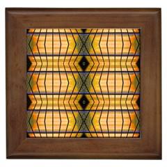 Light Steps Abstract Framed Tiles