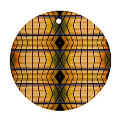 Light Steps Abstract Ornament (round)