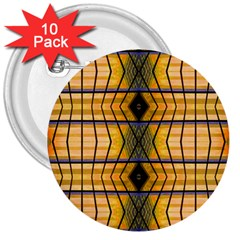 Light Steps Abstract 3  Buttons (10 pack)