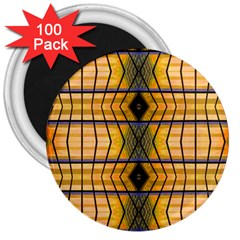 Light Steps Abstract 3  Magnets (100 pack)