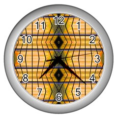 Light Steps Abstract Wall Clocks (Silver)