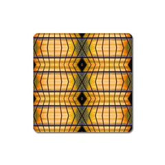 Light Steps Abstract Square Magnet