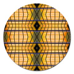 Light Steps Abstract Magnet 5  (Round)