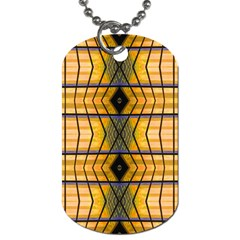 Light Steps Abstract Dog Tag (One Side)