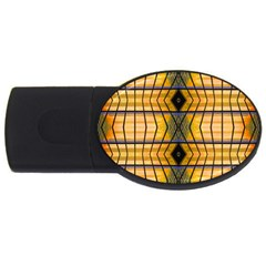 Light Steps Abstract USB Flash Drive Oval (4 GB)