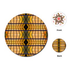Light Steps Abstract Playing Cards (Round)