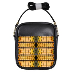 Light Steps Abstract Girls Sling Bags