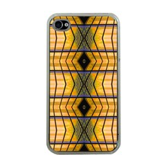 Light Steps Abstract Apple iPhone 4 Case (Clear)