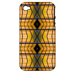 Light Steps Abstract Apple Iphone 4/4s Hardshell Case (pc+silicone)