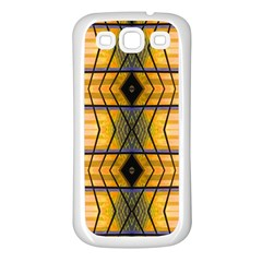 Light Steps Abstract Samsung Galaxy S3 Back Case (White)