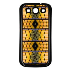 Light Steps Abstract Samsung Galaxy S3 Back Case (black)