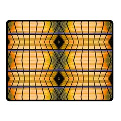 Light Steps Abstract Double Sided Fleece Blanket (small)
