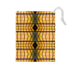 Light Steps Abstract Drawstring Pouches (large)
