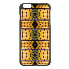 Light Steps Abstract Apple iPhone 6 Plus/6S Plus Black Enamel Case