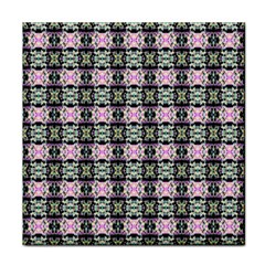 Colorful Pixelation Repeat Pattern Tile Coasters