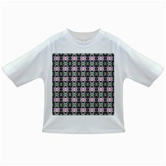 Colorful Pixelation Repeat Pattern Infant/toddler T Shirts