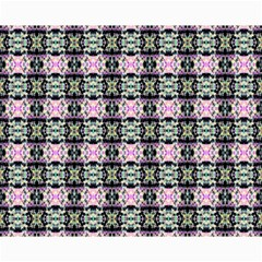 Colorful Pixelation Repeat Pattern Canvas 8  X 10