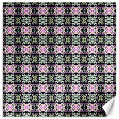 Colorful Pixelation Repeat Pattern Canvas 12  X 12