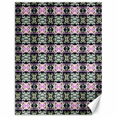 Colorful Pixelation Repeat Pattern Canvas 12  X 16