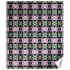 Colorful Pixelation Repeat Pattern Canvas 20  X 24
