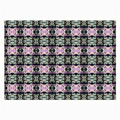 Colorful Pixelation Repeat Pattern Large Glasses Cloth