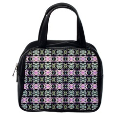 Colorful Pixelation Repeat Pattern Classic Handbags (One Side)