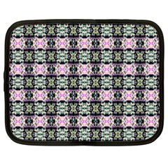 Colorful Pixelation Repeat Pattern Netbook Case (xxl)