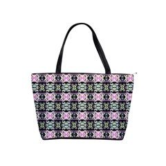 Colorful Pixelation Repeat Pattern Shoulder Handbags