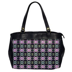 Colorful Pixelation Repeat Pattern Office Handbags