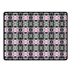 Colorful Pixelation Repeat Pattern Fleece Blanket (small)