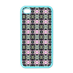 Colorful Pixelation Repeat Pattern Apple iPhone 4 Case (Color)