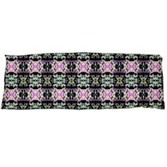 Colorful Pixelation Repeat Pattern Body Pillow Case Dakimakura (two Sides)