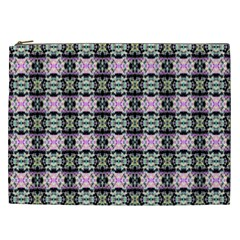 Colorful Pixelation Repeat Pattern Cosmetic Bag (XXL)