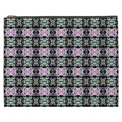 Colorful Pixelation Repeat Pattern Cosmetic Bag (xxxl)