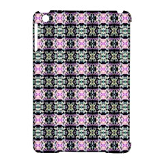 Colorful Pixelation Repeat Pattern Apple iPad Mini Hardshell Case (Compatible with Smart Cover)