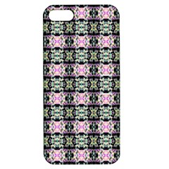 Colorful Pixelation Repeat Pattern Apple Iphone 5 Hardshell Case With Stand